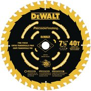 DeWalt 7-1/4 in. 40T Precision Finishing Saw Blade