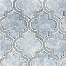 Vogue Arabesque Glass Mosaic