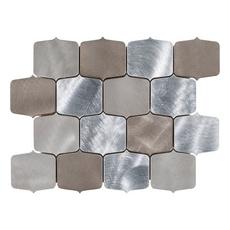 Dune Geo Brushed Metallic Mosaic