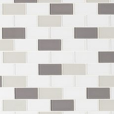 Sandhill Brick Glass and Stone Mosaic