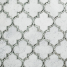 Electra Carrmirror Water Jet Cut Marble Mosaic