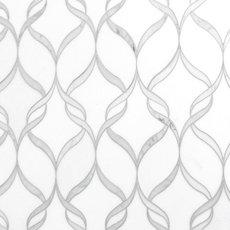 Carrara Thassos Hera Waterjet Marble Mosaic