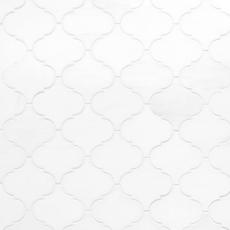 Dolomite Arabesque Honed Marble Mosaic