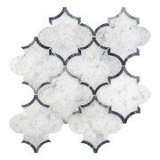 Provence Carrara Waterjet Marble Mosaic