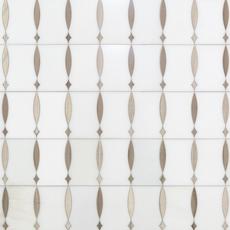 Triton Water Jet Cut Marble Mosaic