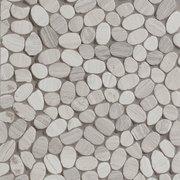 Valentino White Flat Pebble Mosaic