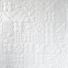 Heritage Meringue Deco Ceramic Tile