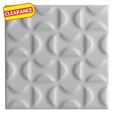 Clearance! Heritage Slate Gray Decorative Ceramic Tile