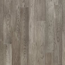 Mirren Gray Oak Wirebrushed Solid Hardwood