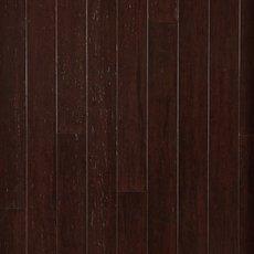 Heritage Walnut Handscraped Solid Stranded Bamboo