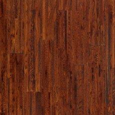 Cognac Oak Hand Scraped Wire Brushed Solid Hardwood