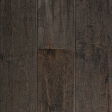 Gray American Maple Hand Scraped Solid Hardwood
