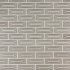 Villa Heirloom Pewter Porcelain Tile