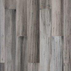 Urban Gray Hand Scraped Solid Stranded Bamboo