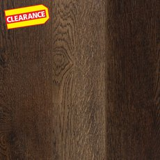Clearance! Aged Dark Brown Water-Resistant Laminate