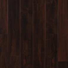 Dark Mahogany Rigid Core Luxury Vinyl Plank - Cork Back