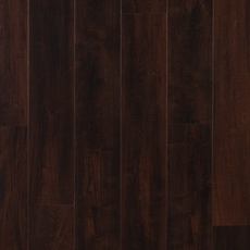 NuCore Dark Mahogany Hand Scraped Plank with Cork Back