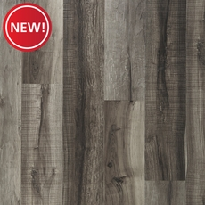 New! NuCore Mixed Gray Hand Scraped Plank with Cork Back
