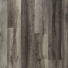 NuCore Mixed Gray Hand Scraped Plank with Cork Back