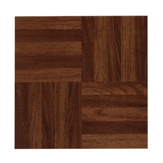 Parquet Red Luxury Vinyl Tile