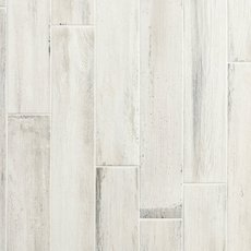 Lexington White Wood Plank Porcelain Tile