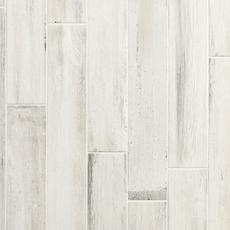 Lexington White Wood Plank Porcelain Tile