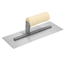 Pacesetter Wood Handle Square Notched Trowel