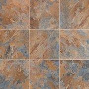 Blue Gray Slate Luxury Vinyl Tile