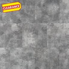 Clearance! Gray Concrete Luxury Vinyl Tile