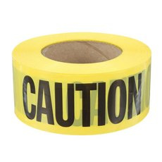 Pacesetter Yellow Caution Tape - 1000ft.