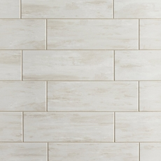 Coastal Beach White Wall Tile