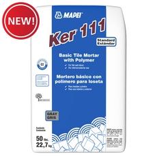 New! Mapei Ker 111 Gray Basic Tile Mortar with Polymer