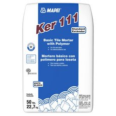 Mapei Ker 111 White Basic Tile Mortar with Polymer