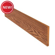 New! Color 29285TW Red Oak Stair Riser - 42 in.