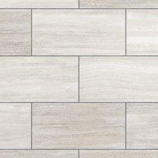White Grouted Rigid Core Luxury Vinyl Tile - Cork Back