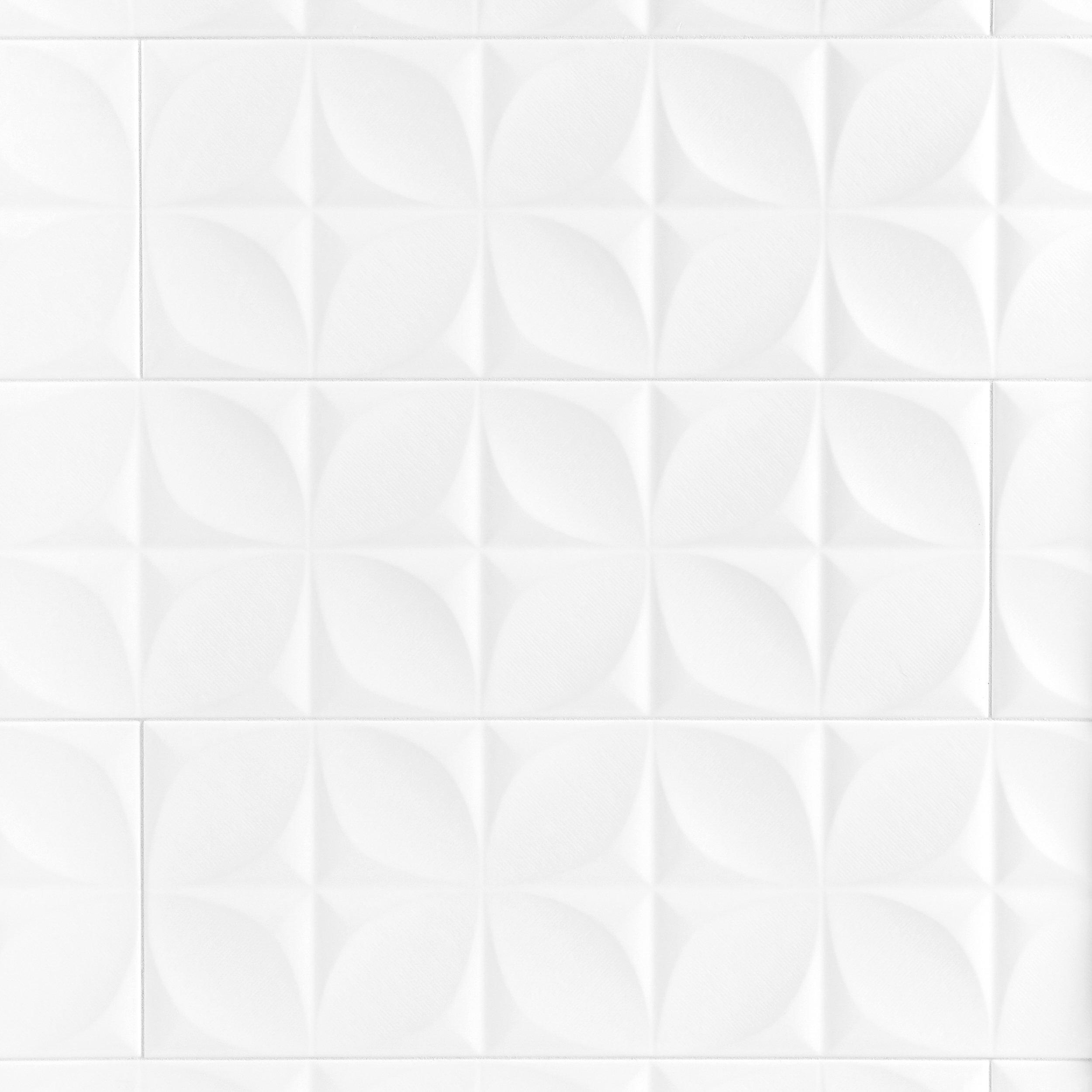 Exceptionnel Polar White Ceramic Tile