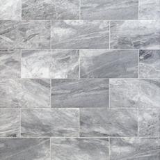 Bardiglio Honed Marble Tile