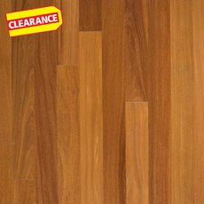 Clearance! Natural Brazilian Teak Solid Hardwood