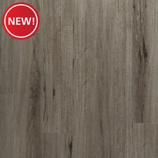 New! DuraLux Performance Tuscan Greige Luxury Vinyl Plank with Foam Back