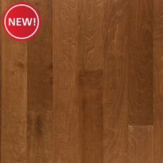 New! Honey Birch Smooth Engineered Hardwood