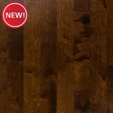 New! Cinnamon Birch Hand Scraped Locking Engineered Hardwood