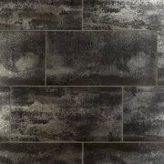 Metallic Black II Porcelain Tile