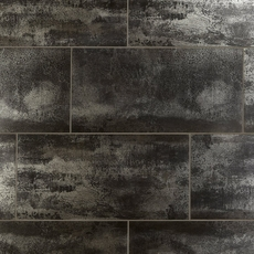 Metallic Black II Porcelain Tile