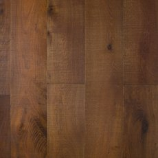 Smoked White Oak Wire Brushed Engineered Hardwood
