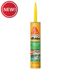 New! Sika Construction Adhesive