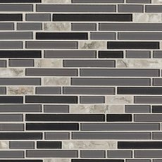 Chelsea Gray Glass Mosaic
