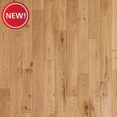 New! Oak Natural Smooth Solid Hardwood