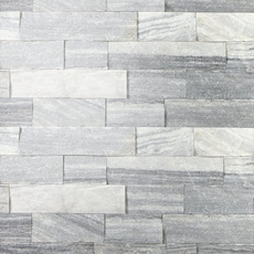 Regent Gray Splitface Marble Panel Ledger