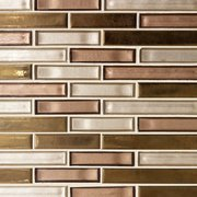 Liquid Bronze Glass Mosaic