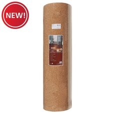 New! Sentinel 6mm Cork Underlayment Roll